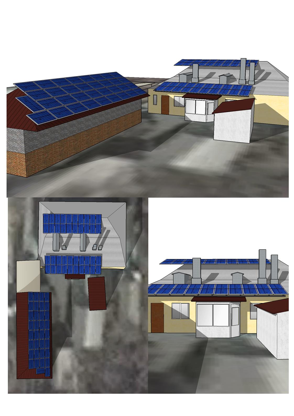 Сетевая солнечная станция 20 кВт в г. Харьков для работы по Зеленому тарифу. Проектирование.