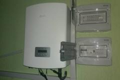 Проектирование, монтаж и подключение солнечной станции 10 кВт в г. Красноград