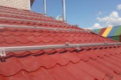 Проектирование, монтаж и подключение сетевой солнечной станции 10 кВт в г. Красноград