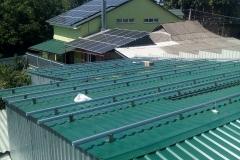 Проектирование, монтаж и подключение крышной солнечной станции 30 кВт в г. Лохвица