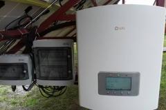 Проектирование, монтаж и подключение наземной солнечной станции 30 кВт в г. Лохвица