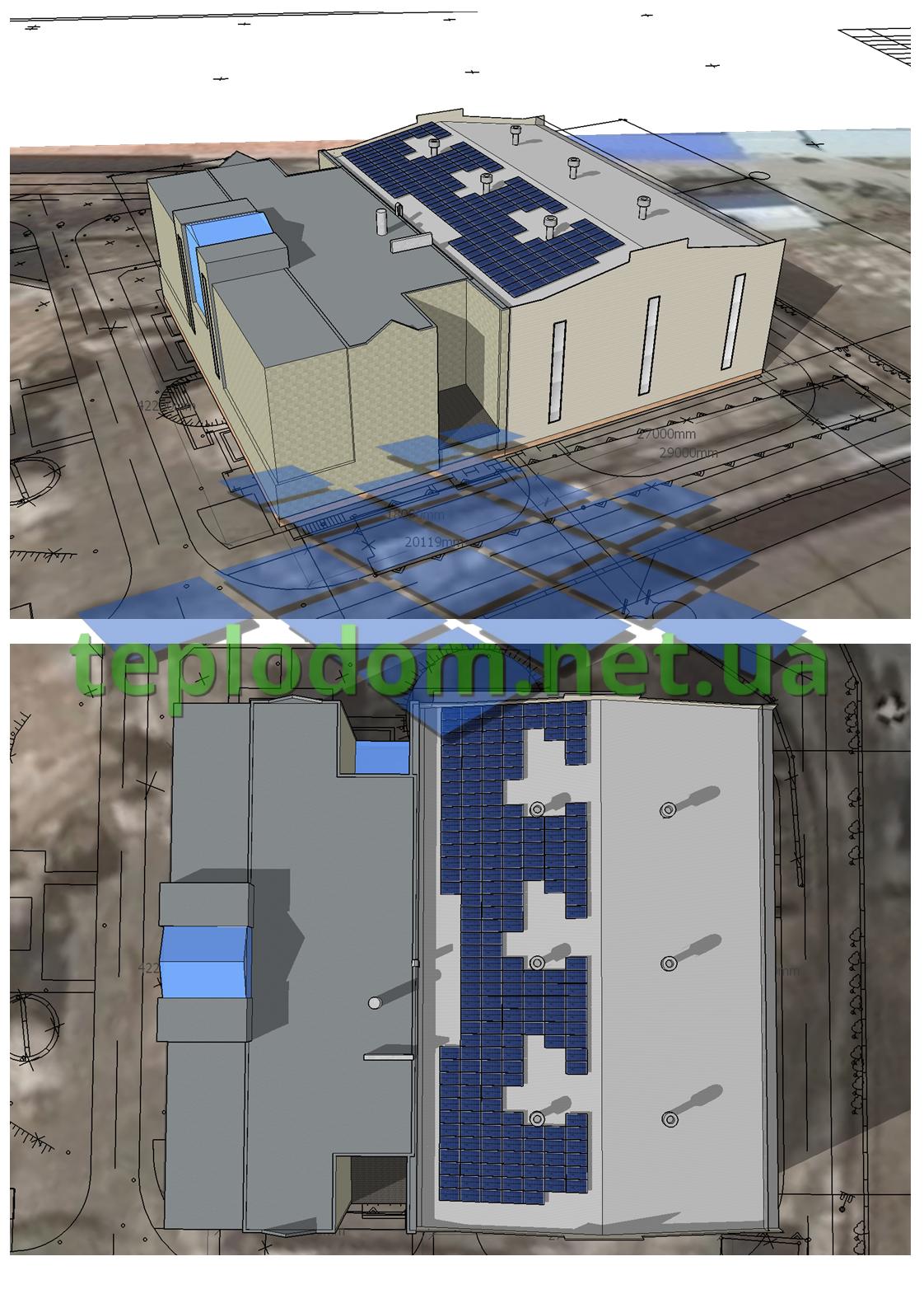 проект солнечной электростанции, коммерческая СЭС с расчетом на летне-осенний период
