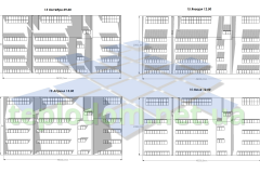 проект солнечной электростанции, анализ затенения для коммерческого здания