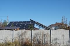 Проектирование и монтаж сетевой солнечной станции для дома 10 кВт на навесе в г. Харьковской обл.