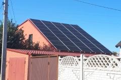 Проектирование, монтаж и подключение сетевой солнечной станции для дома 20 кВт в г. Харьков