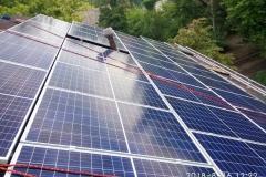 Солнечная станция 25 кВт на компенсацию собственного потребления в Киеве