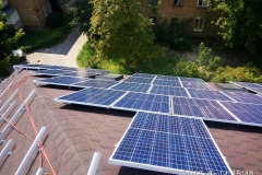 Проектирование, поставки оборудования и шеф монтаж солнечной станции 25 кВт работающей на компенсацию собственного потребления электроэнергии