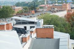 """Солнечная станция на крыше многоэтажки 10 кВт в Полтаве под """"зеленый"""" тариф"""