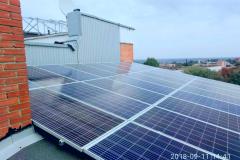 """Солнечная станция 10 кВт на крыше многоэтажки ОСББ под """"зеленый"""" тариф в Полтаве"""