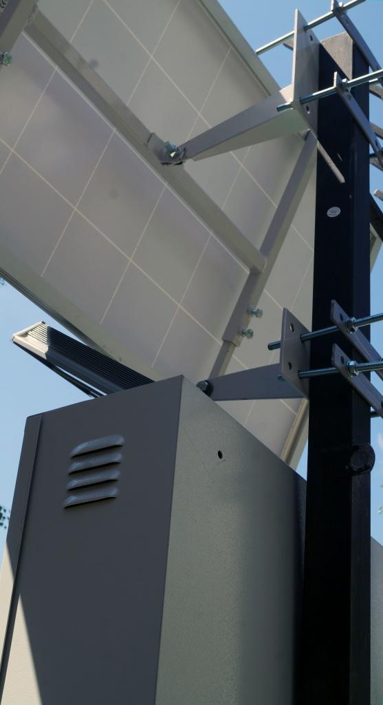 Солнечный светодиодный светильник фонарь на солнечных батареях