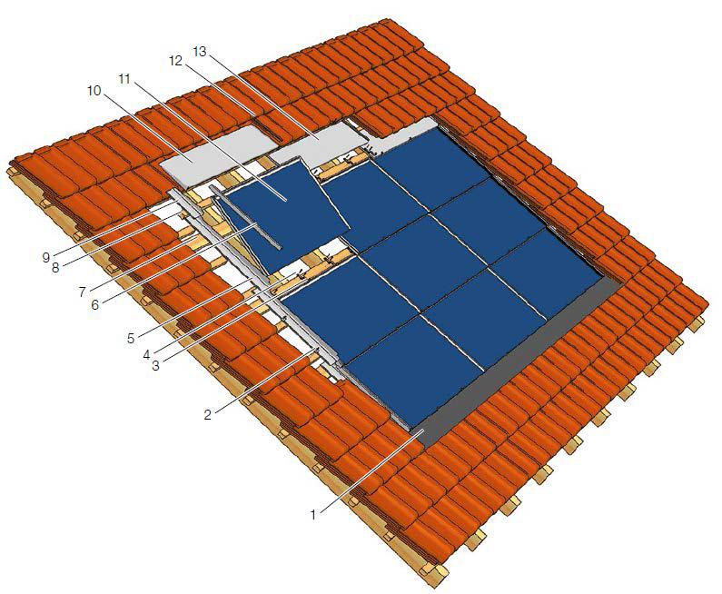 крепления солнечных панелей Solrif