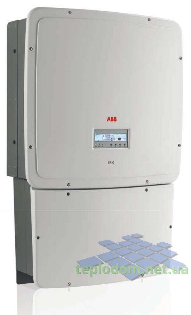 Солнечная электростанция 25 кВт на инверторе ABB 25 кВт