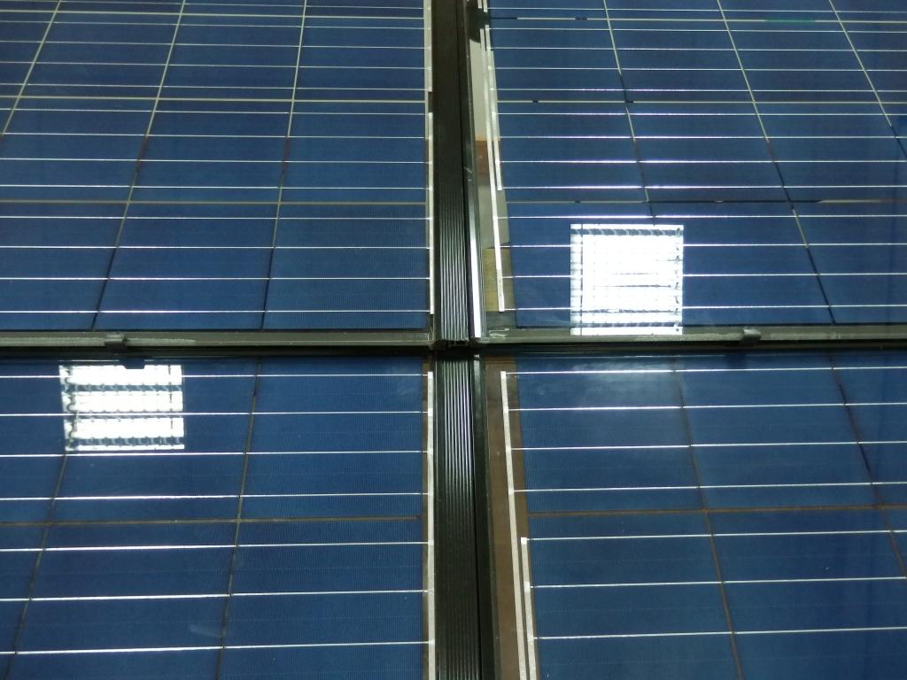 Solitek Solrif solar roof из BIPV солнечных прозрачных батарей