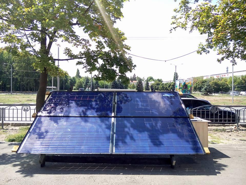 Solitek BIPV навес или крыша